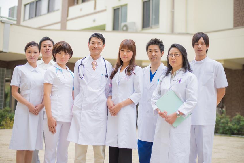 病院併設の訪問看護ステーションは便利です。