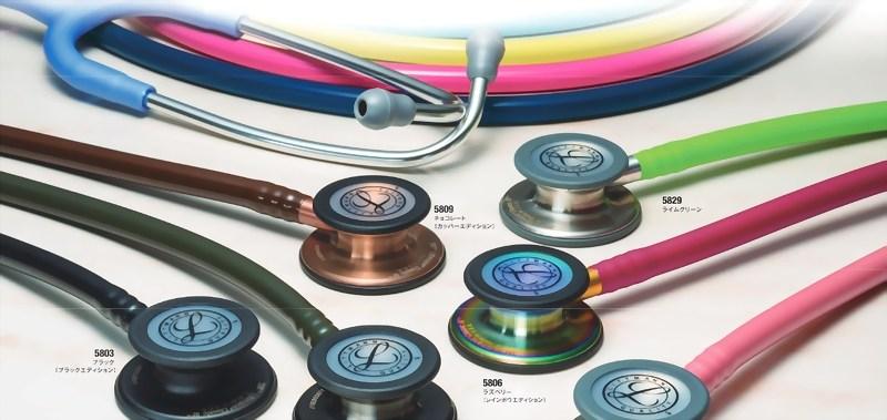 聴診器のチューブの色は自分の好みで選んで良い