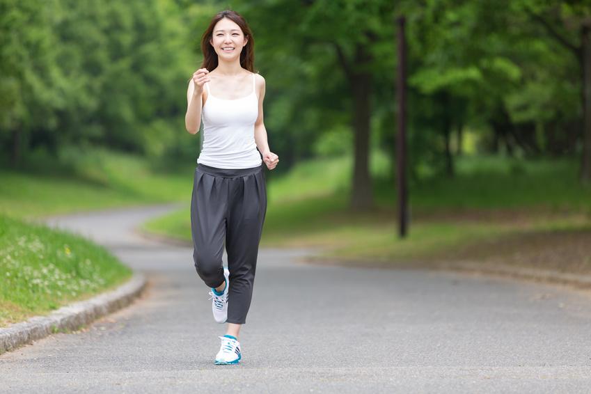 有酸素運動をすることで汗腺が鍛えられる