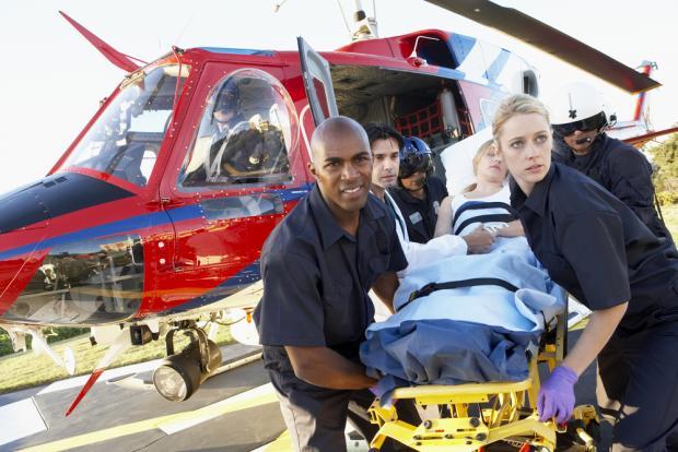 フライトナースとはドクターヘリで患者の元に急行し、医師とともに救急医療をする看護師です。
