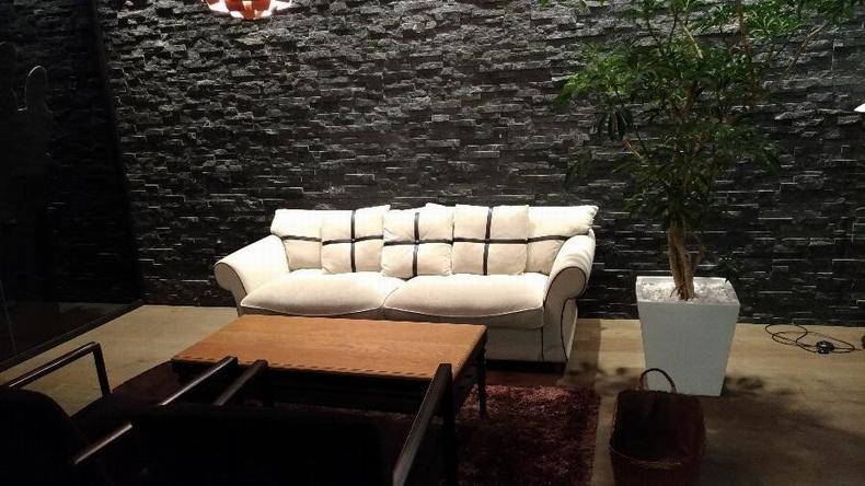 テレビのロケに人気のソファーセット