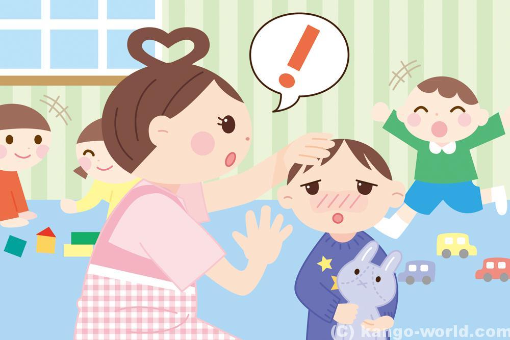 保育園の看護師の仕事は、園児の健康管理です。