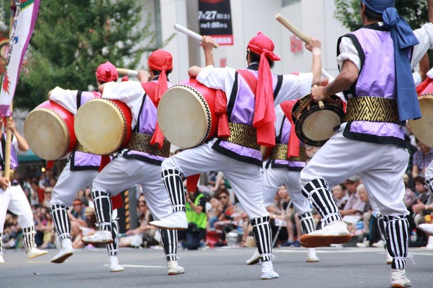 イベントナースは、夏祭りなどの地域イベントでも働きます。