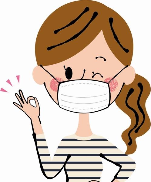 感染者にマスクをさせることで家族内感染を防止