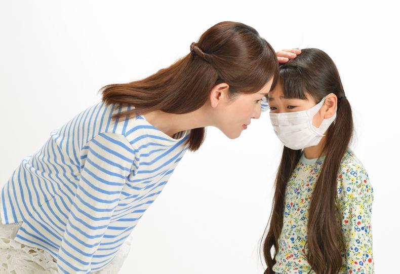 風邪の家族内感染の確率は約20%です。